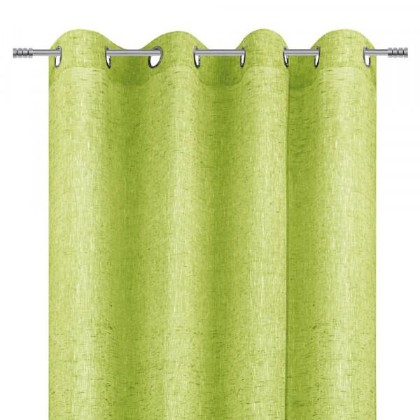 Ösenvorhang für Ihr Wohnzimmer