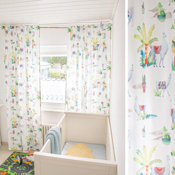 Vorhang und Gardine für das Kinderzimmer