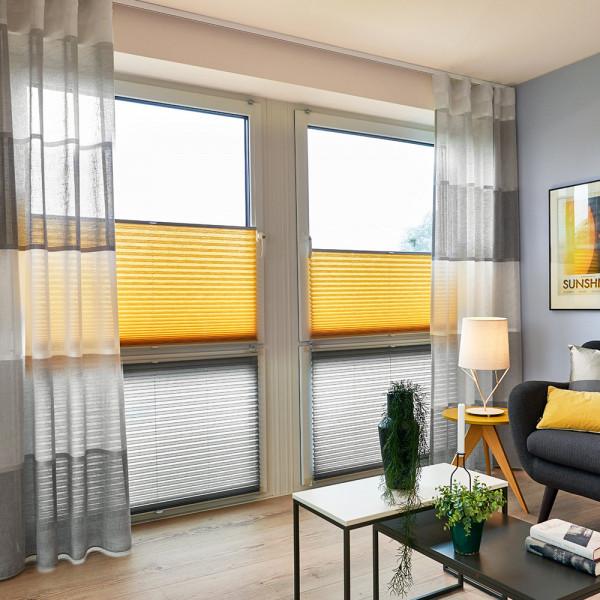 Gardine und Plissee für Ihr Wohn- oder Arbeitszimmer