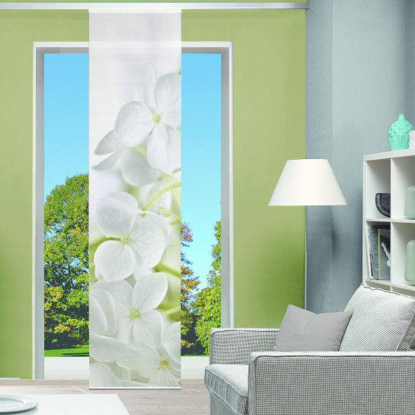 "Schiebevorhang Digitaldruck Bambus-Optik ""LYNTON"""