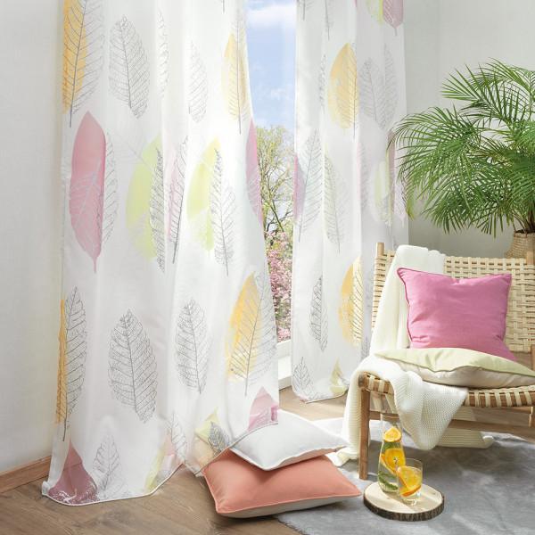 Ösenvorhang für Ihr Wohn- oder Schlafzimmer