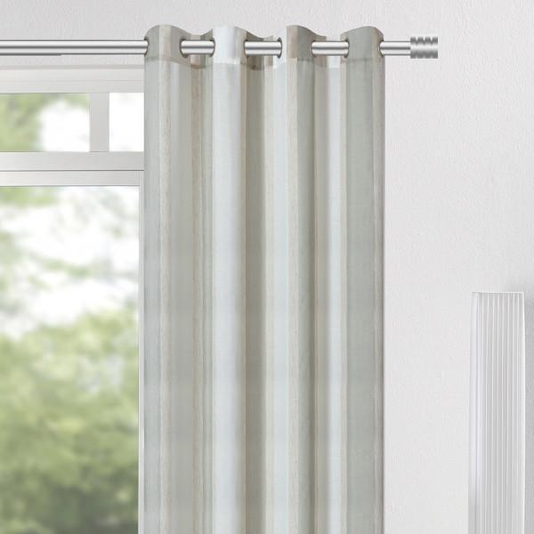 Schlichter Ösenvorhang für Ihre Wohnräume