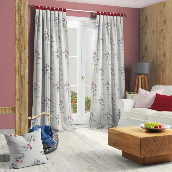 dekoschal im landhausstil gardinen vorh nge fenster produkte ttl ttm. Black Bedroom Furniture Sets. Home Design Ideas