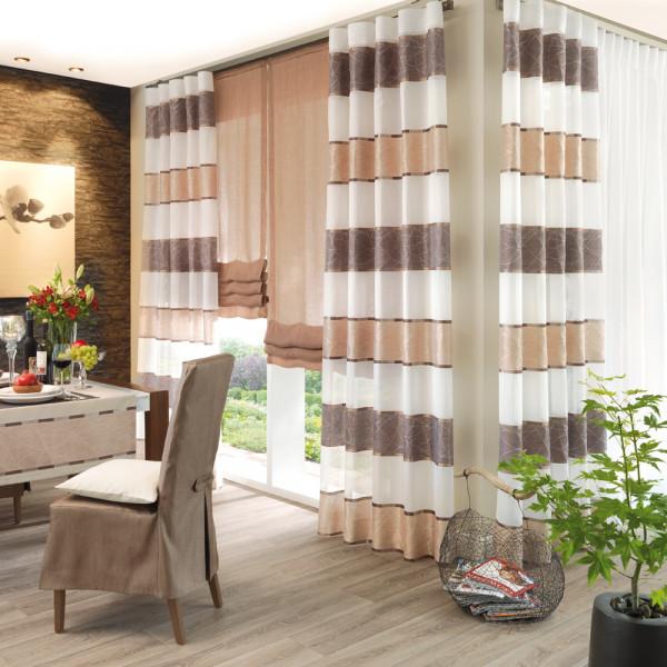 Gardine und Jacquard-Deko für Ihr Wohnzimmer