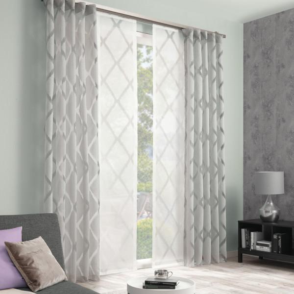 Vorhang-Gardinen-Duo für Ihr Schlaf- oder Wohnzimmer