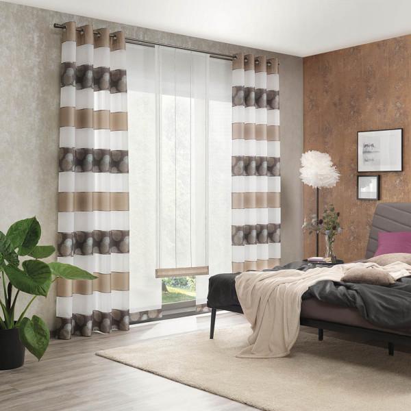 Gardine-Vorhang-Deko für Ihr Schlafzimmer