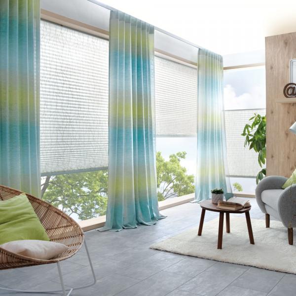 Dekoschal-Gardine für Ihr Wohnzimmer