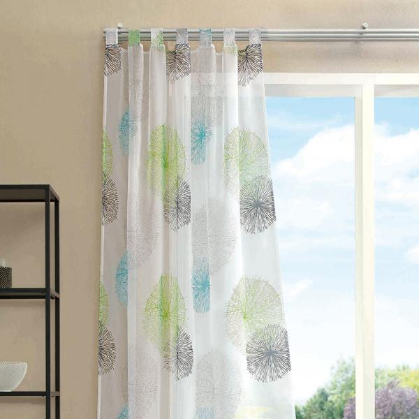 Gardine mit Schlaufen für Ihr Wohn- oder Schlafzimmer