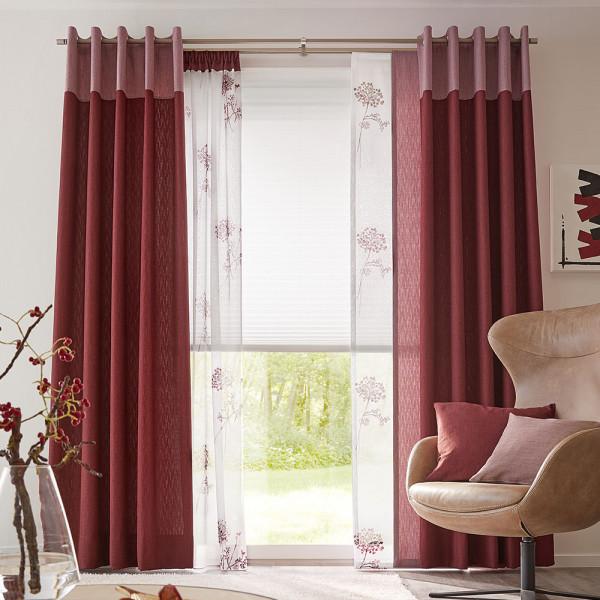 Vorhang und Gardine für Ihr Wohnzimmer