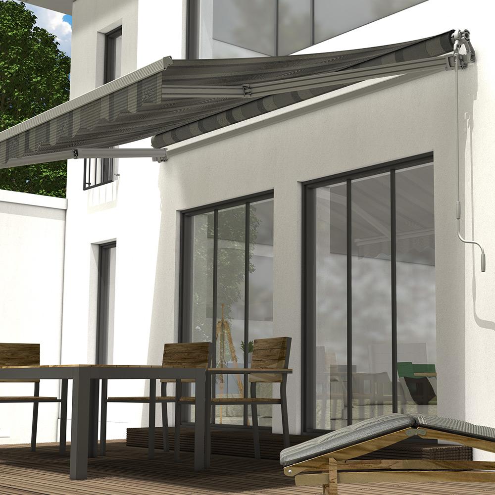 Gelenkarm Markise für Ihre Terrasse   TTL/TTM