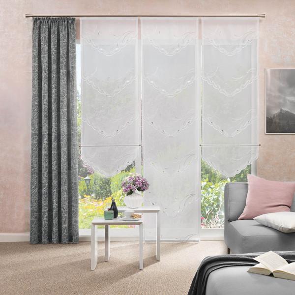 Gardinen-Paneel und Dekostoff für Ihr Wohnzimmer
