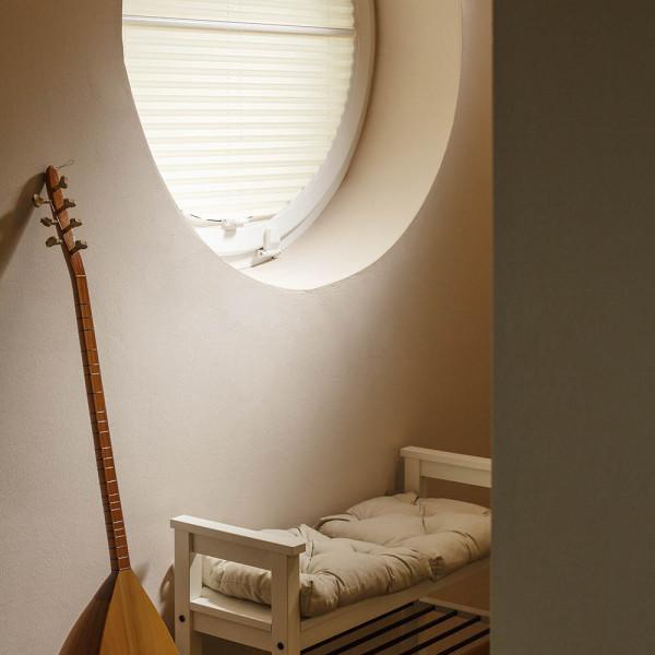 Plissees für besondere Fensterformen