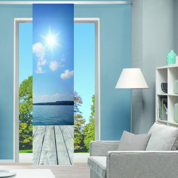 Schiebevorhang für Ihr Wohnzimmer
