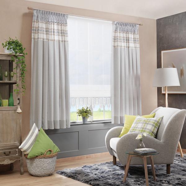 Deko-Vorhang-Kombi für Ihr Wohnzimmer