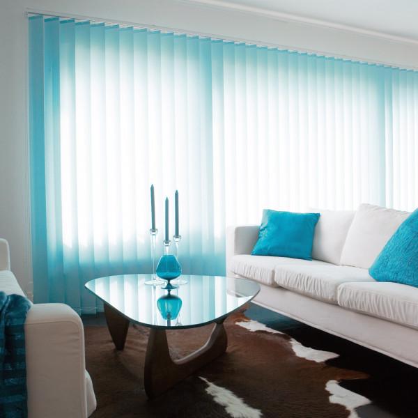 Lamellenvorhänge für Ihr Wohnzimmer