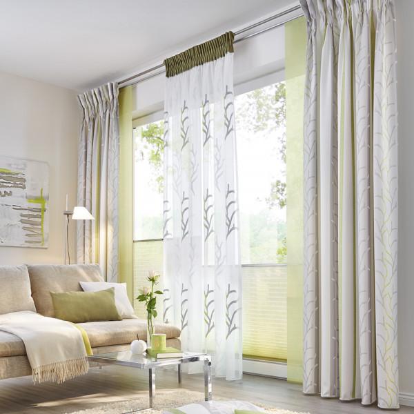 Gardine für Ihr Wohnzimmer