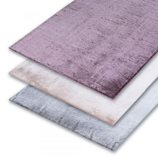 Flauschiger Teppich für gemütliche Wohnräume