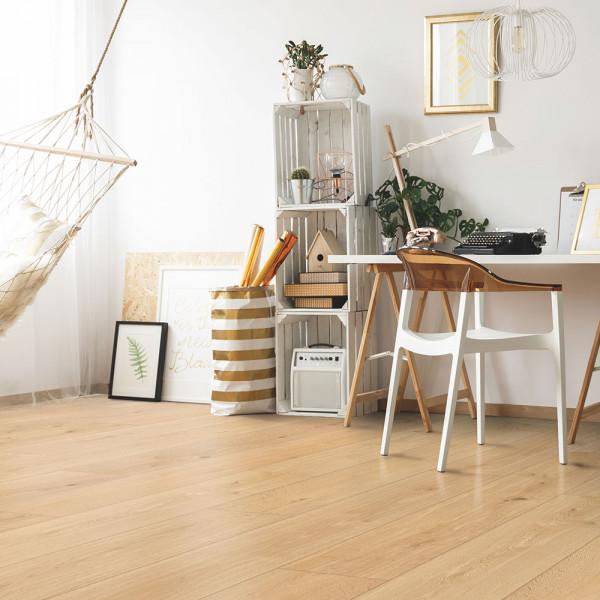 Vinylboden für den Wohn- und Schlafbereich