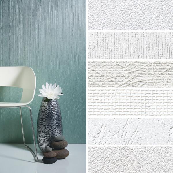 Vliestapete zum Überstreichen für dekorative Wände